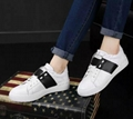 Valentino leather studded OPEN SNEAKER