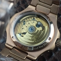 PATEK PHILIPPE Nautilus Moon Phases Si  er Watch BOX & PAPERS 11