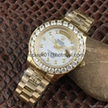 18KYellow Gold Mens Rolex Presidential Day-Date Diamond Watch Fashion men watch