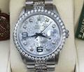 ROLEX DATEJUST MENS WOMENS 36mm Diamond