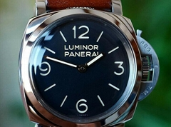 Panerai Luminor 1950 Manual 47mm Steel Mens Strap Watch PAM 372
