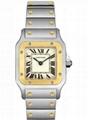 Cartier Women's W20012C4 Santos 18K Gold