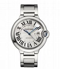 Cartier Men's W69012Z4 Ballon Bleu Stainless Steel Automatic Watch  Mens Watch 4