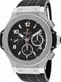 Hublot BIG BANG GOLD Black watch Cheap Automatic men watches