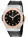 Hublot Classic Fusion Automatic Matte Black Dial Men's Watch
