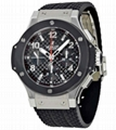 Hublot Big Bang Steel Ceramic Men s Watch