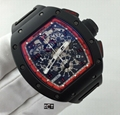 Richard Mille RM11 Limited Edition Midnight Fire luxury men watch
