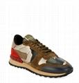 Valentino Garavani Rockrunner Camo Flat Sneakers