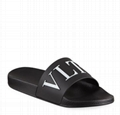 Valentino Garavani Men s Classic VLTN Logo Pool Slide Sandals