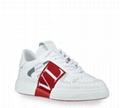 Valentino Garavani Men's VL7 Web Logo Low-Top Sneakers men leather shoes