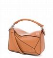 Loewe Puzzle Small Bag lady Fashion puzzle piece stitching handbags