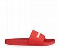 Balenciaga Men s Logo Rubber Pool Slide Sandals