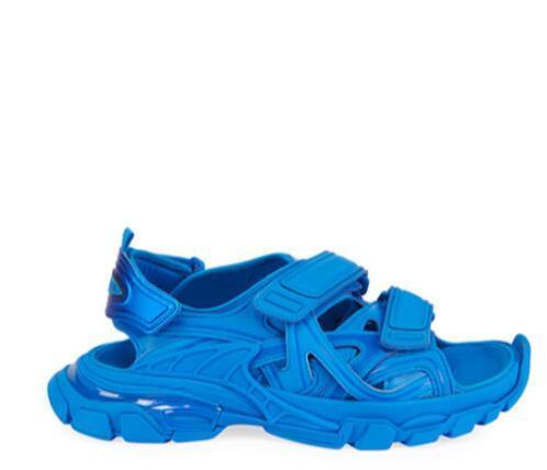Balenciaga Men's Track Tonal Grip-Strap Sandals men sandals