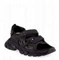 Balenciaga Men s Track Tonal Grip-Strap Sandals men sandals