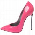Casadei Blade high heel pumps pink