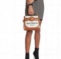 Balmain BBuzz 23 Calfskin Leather Shoulder Bag Balmain satchel bags