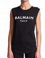 Balmain 3-Button Logo Tank Top