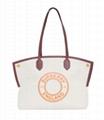 Burberry Society Medium Logo Tote Bag
