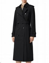 Waterloo Heritage Slim Westminster Trench Coat          cotton jacket