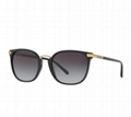Burberry Check Temples Square Sunglasses fashion eyewears