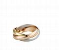 Cartier 18K TRINITY RING