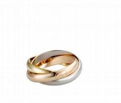 Cartier 18K TRINITY RING Cheap fashion cartier CLASSIC ring