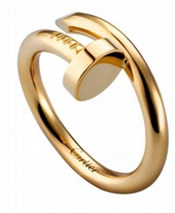 Cartier Juste Un Clou Ring SM in Yellow Gold Fashion rings