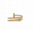 Cartier JUSTE UN CLOU nail DIAMONDS Ring