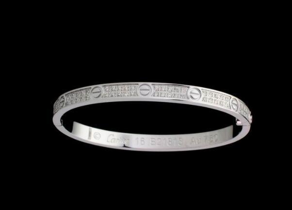 Cartier Diamond paved Love bracelet