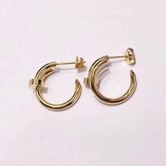 Cartier Juste un Clou earrings 18K Yellow Gold Cartier nail earrings