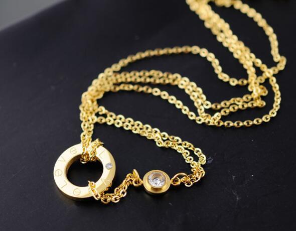 Cartier Diamond LOVE Necklace