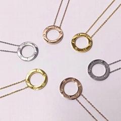 Cartier 3 Diamond LOVE Necklace Fashion necklaces for women