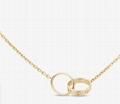Cartier LOVE NECKLACE YELLOW GOLD Fashion cheap necklace