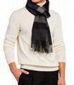 Burberry Men's Half Mega Check Cashmere Scarf Fashion scarf for men