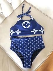 ESCALE BIKINI TOP and Bottom Women    swimsuits blue