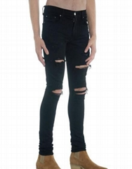 Amiri Men's Thrasher DISTRESSED Skinny Jeans fashion men jeans on sale
