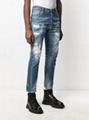 Dsquared2 Tidy Biker slim-fit jeans dsq jean blue