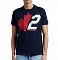 Dsquared2 Men s Slouch-Fit Maple Leaf Logo Tee