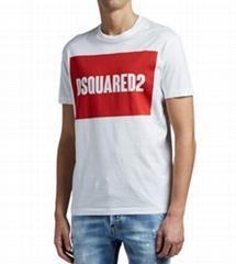 Dsquared2 Men's Cool-Fit Logo Tee Dsq boxed logo T-shirt