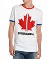 Dsquared2 Men's Very Very Dan-Fit Maple Leaf Graphic T-Shirt cheap men t-shirts