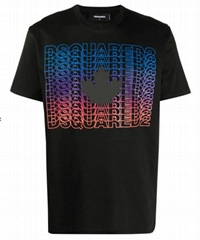 Dsquared2 logo-print cotton T-shirt men casual t-shirts cheap tee