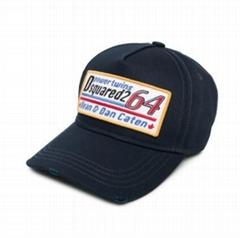 Dsquared2 logo patch baseball cap DSQ Power Twins hat