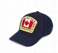 Dsquared2 Canada flag patch baseball cap