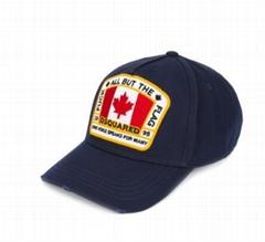 Dsquared2 Canada flag patch baseball cap cheap baseball caps for men