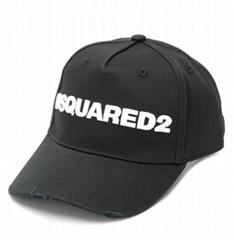 Dsquared2 embroidered logo baseball cap men adjustable baseball hat cap