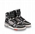LOUIS VUITTON LV Trainer hi-top sneakers