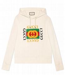 logo Print hooded sweatshirt men women cotton hoodie