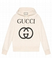 Gucci Hooded sweatshirt with Interlocking G Men cotton jersey