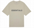 FEAR OF GOD ESSENTIALS 3D Silicon Applique Boxy T-Shirt