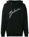 Balmain signature logo hoodie men cotton